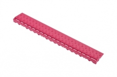 Боковой элемент обрамления с замками, цвет Розовый