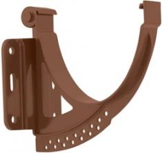 Кронштейн желоба пластиковый Стандарт (цвет коричневый)